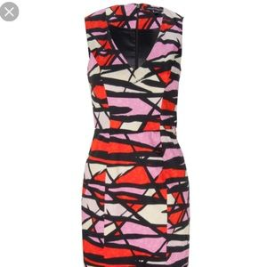 FRENCH CONNECTION Shadow Dance Sleeveless Dress
